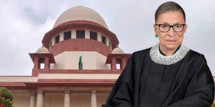 Imprints ofJustice Ruth Ginsburg on India's Supreme Court