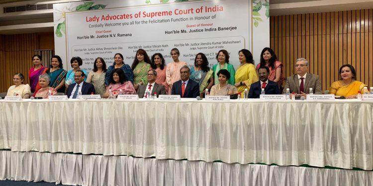 """""""It is your right"""": CJI Ramana presses for 50% representation of women in judiciary"""