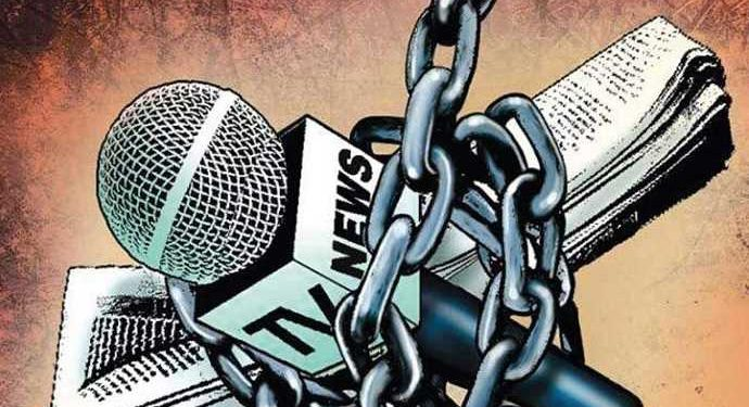 Freedom of press compromised in Kashmir